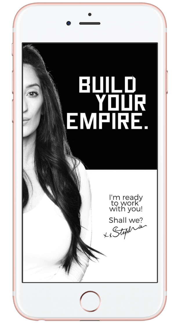 Stef Joanne – Build Your Empire 1