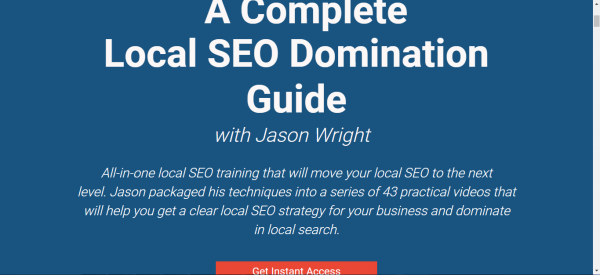 Local SEO Domination 2020 - Jason Wright - Earn $1000 weekly 1
