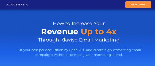 Klaviyo Email Marketing Masterclass 1