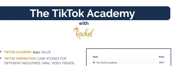 Rachel  The TikTok Academy 1