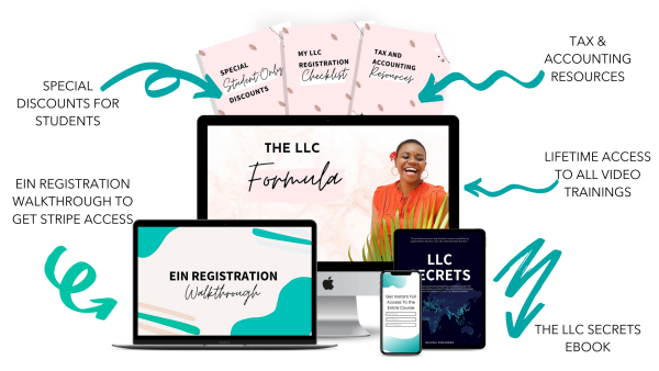 LLC Formula +  $1k Code Masterclas formula 1