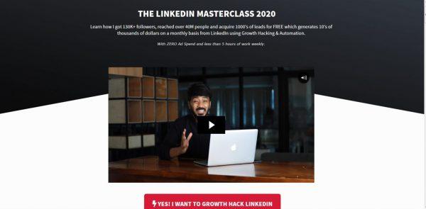 Vaibhav Sisinty  LinkedIn Masterclass 2020 1