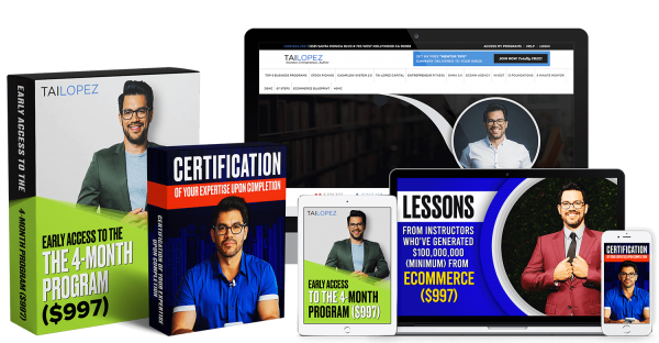 Tai Lopez - Ecommerce Specialist Certification 1