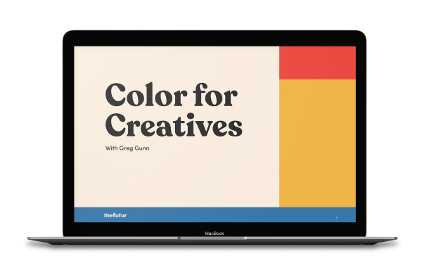 Greg Gunn - Color For Creatives 1