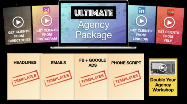 Robert Neckelius - Utlimate Agency Package + Book 1