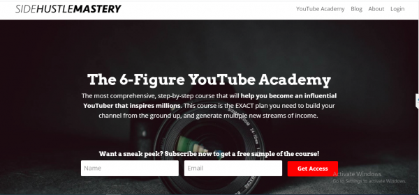 The 6-Figure YouTube Academy 1