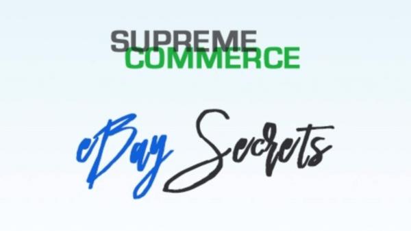 Supreme Training - Secrets To Successful Ebay Dropshipping 1