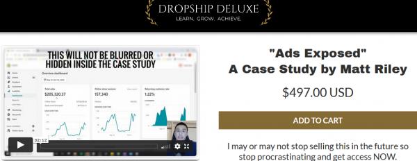 Matt Riley - Ads Exposed Case Study 1
