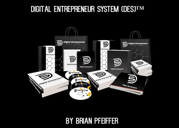 Brian Pfeiffer - Digital Entrepreneur System 1