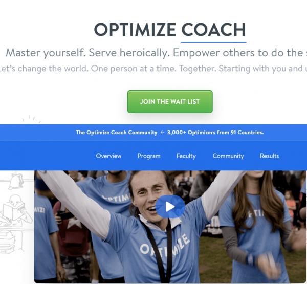 Brian Johnson - Optimize Coach 1